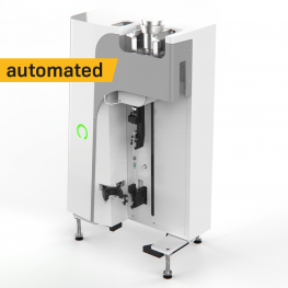 Automated dispenser for radiopharmaceuticals