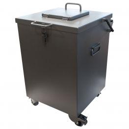 Mobile Shielded Waste Bin