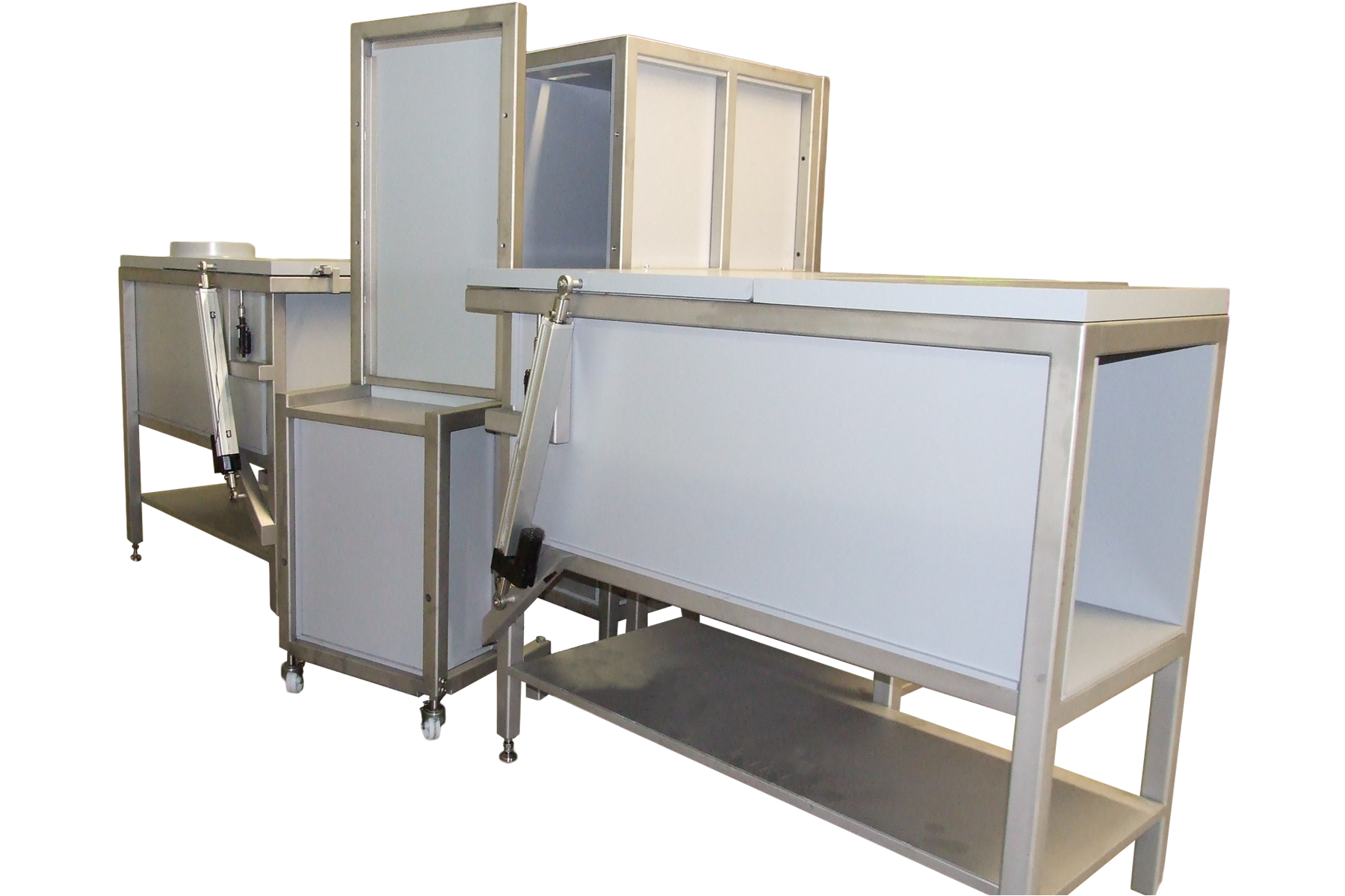 Lead radiation shielded food irradiation system