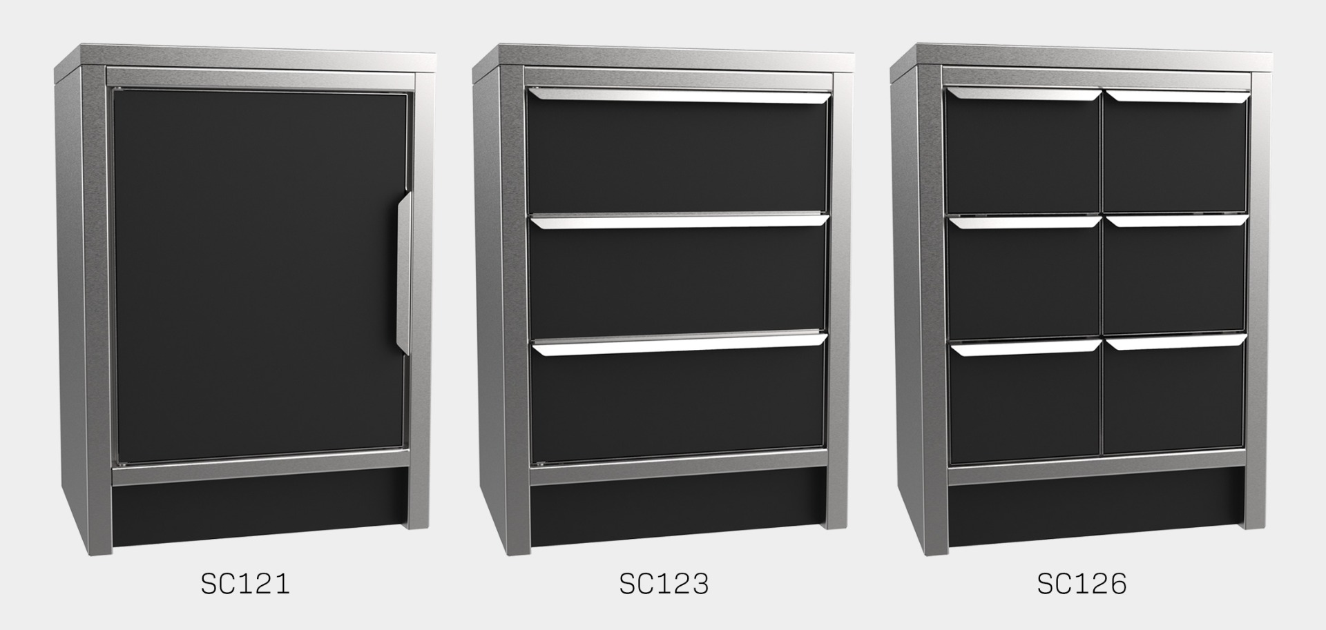 SC12 Lead lined cabinets