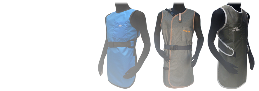 Lead X-Ray Aprons for x-ray protection of personnel.